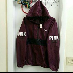 New VS Pink very rare and HRT windbreaker anorak